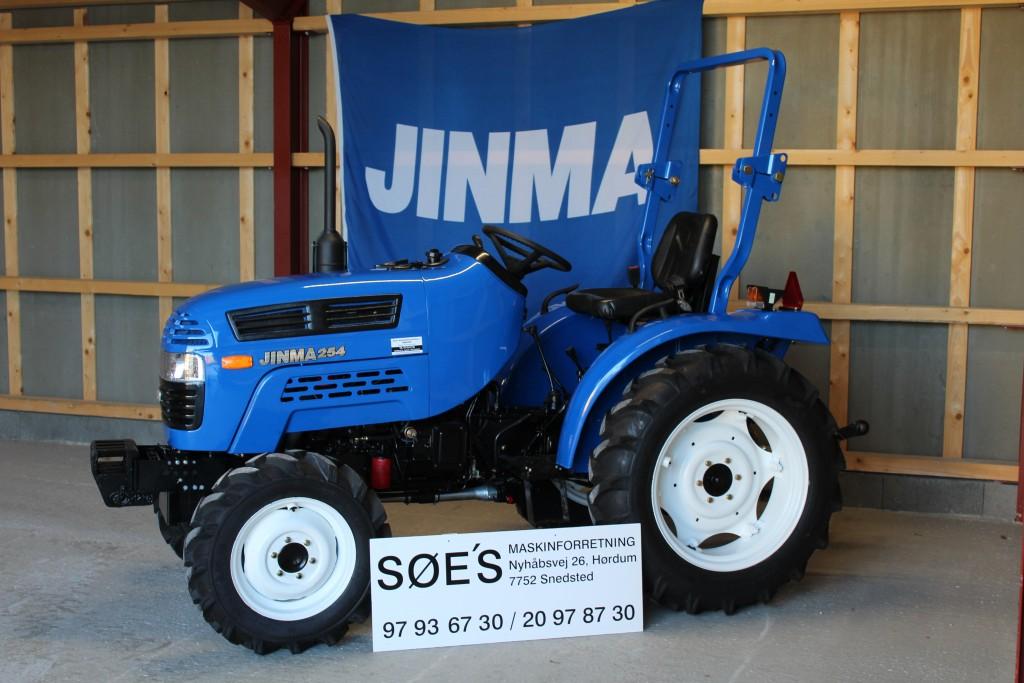 jinma 254 med traktor dæk pris kr 49.000
